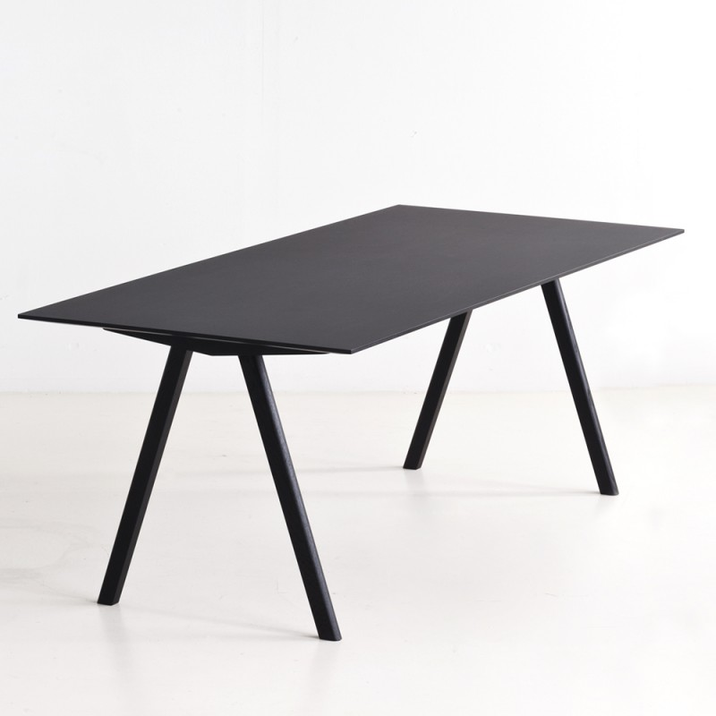 hay copenhague table cph10 schwarz l 160 toendel. Black Bedroom Furniture Sets. Home Design Ideas
