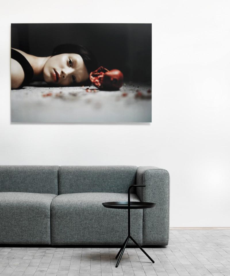 hay dlm beistelltisch schwarz toendel. Black Bedroom Furniture Sets. Home Design Ideas