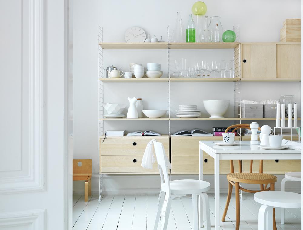 Systemmöbel für Küche