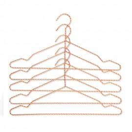Twisted Kleiderbügel, Kupfer, Hay