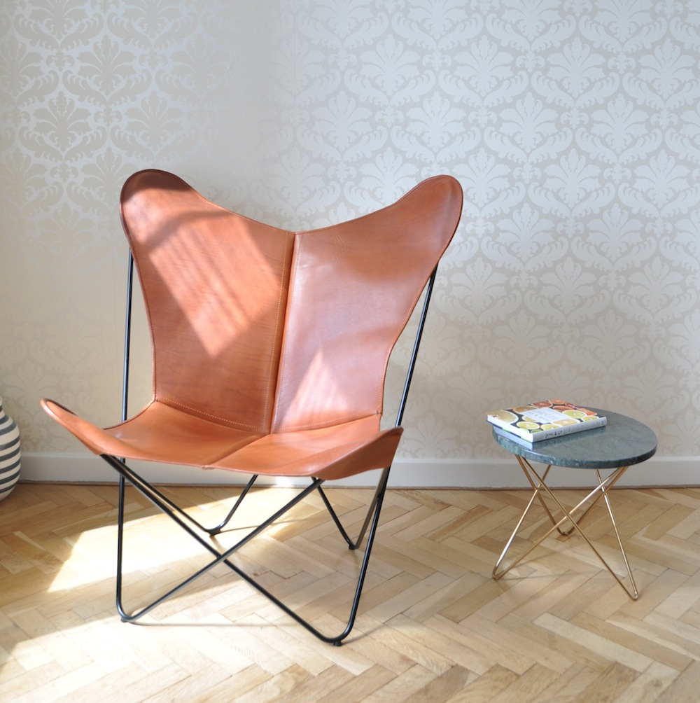 objectcph ledersessel papillon mokka m bel design k ln. Black Bedroom Furniture Sets. Home Design Ideas