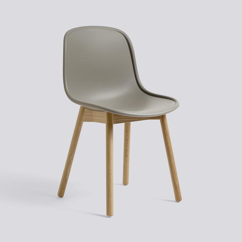 wrong for hay neu13 stuhl grau eiche toendel. Black Bedroom Furniture Sets. Home Design Ideas