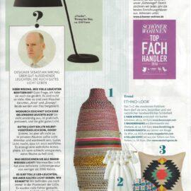 Cloche Lamp in Schöner Wohnen