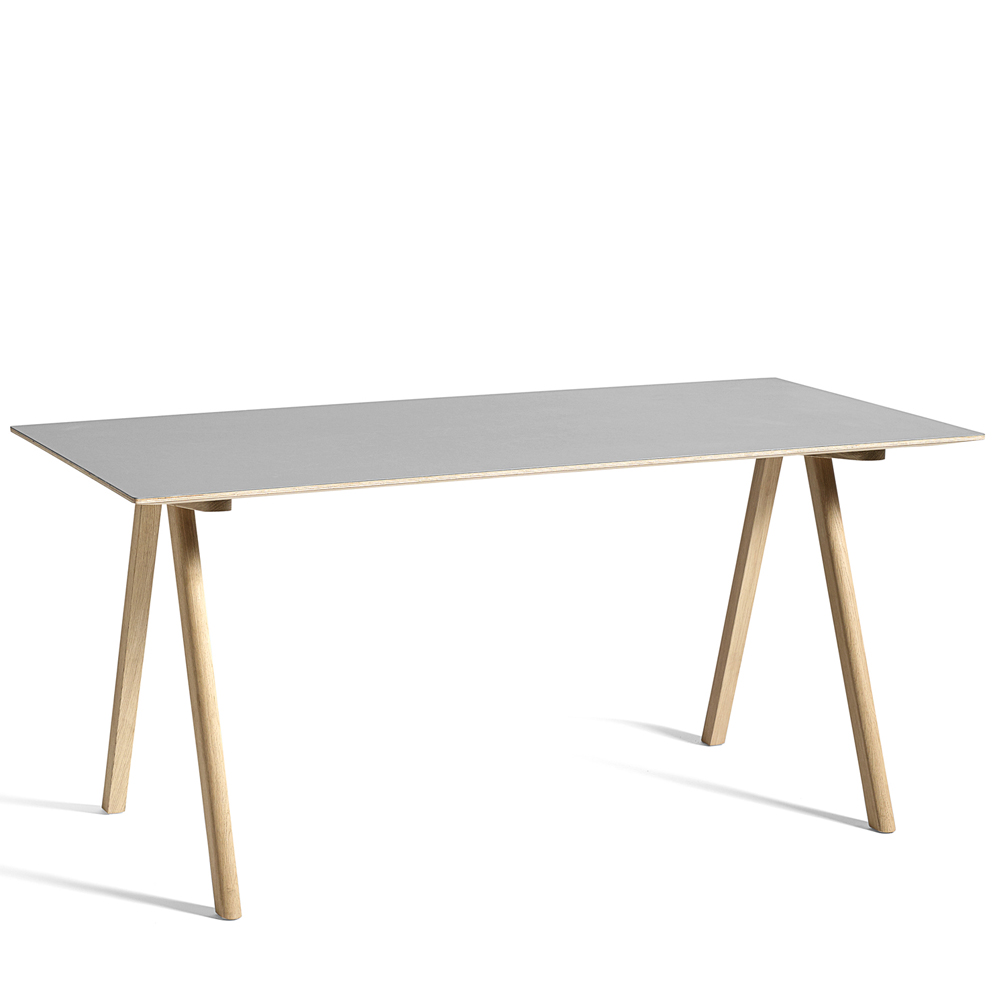hay copenhague table cph10 eiche grau m bel design k ln. Black Bedroom Furniture Sets. Home Design Ideas