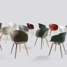 Skandinavisches Design von HAY Schalenstühle