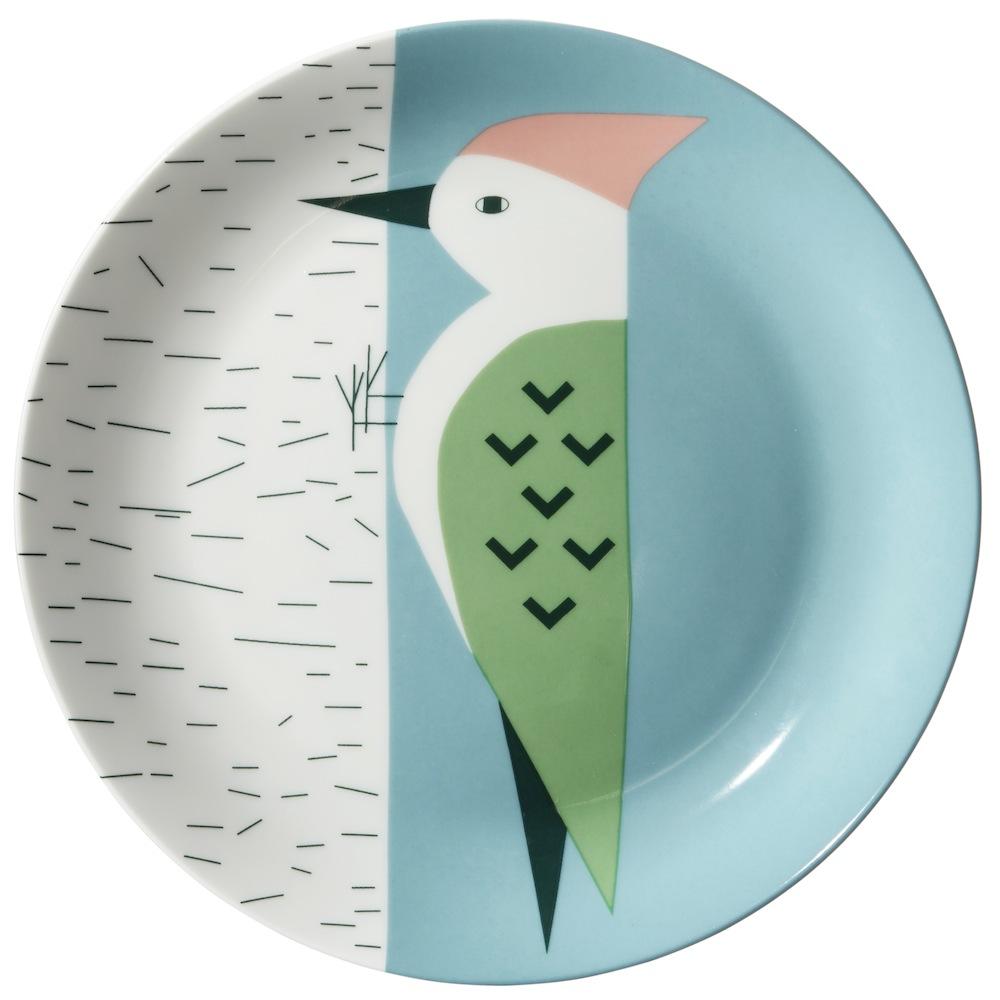 Woodpecker Plate Donna Wilson