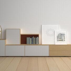 Systemmöbel Sideboard skandinavisches Design