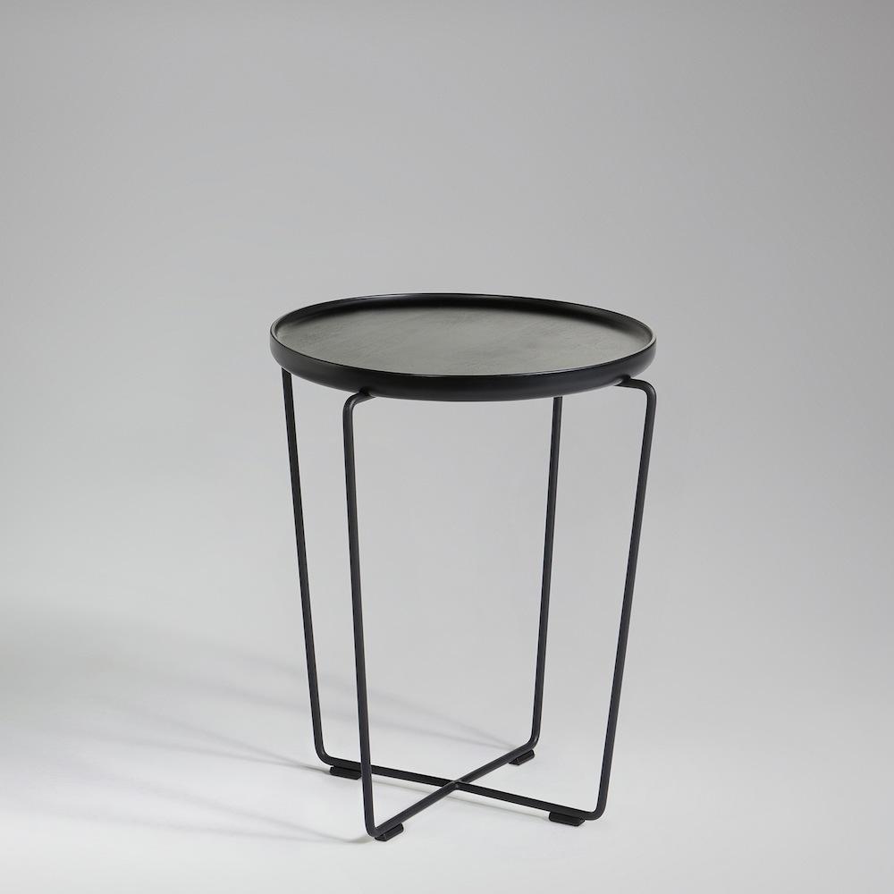 Beistelltisch Schwarz won cage tisch s schwarz toendel
