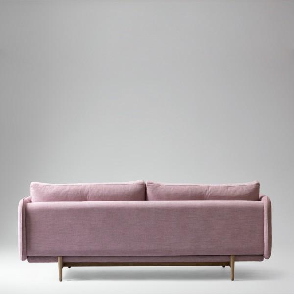 Won, Hold Sofa, rosa, Rückansicht