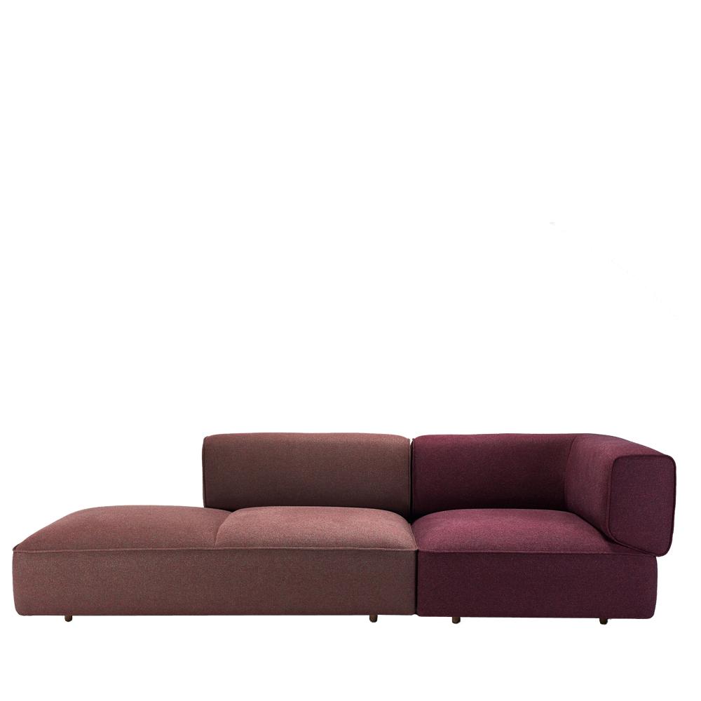 Modulares Sofa won poff sofa brombeer toendel