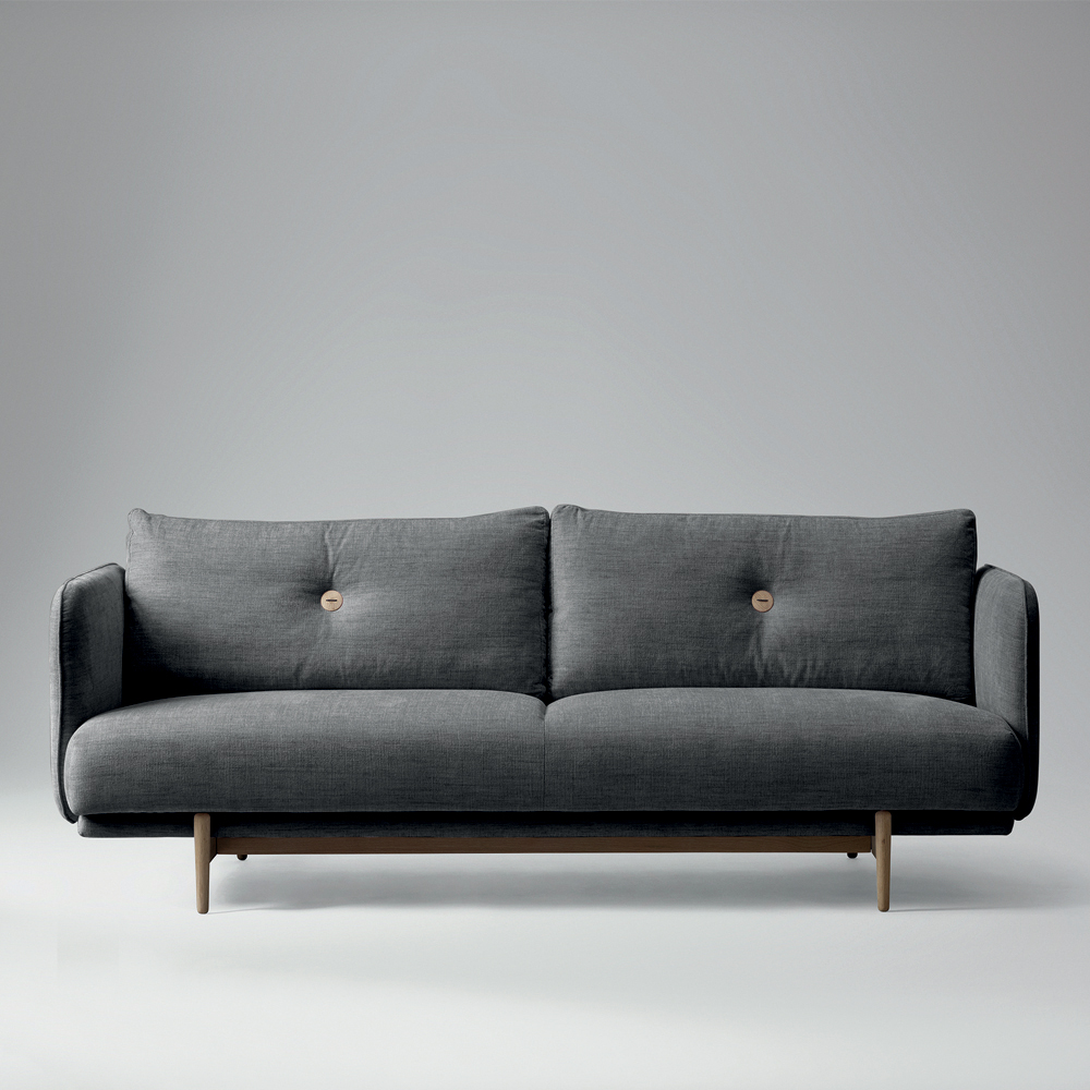 WON, Hold Sofa, grau | Toendel