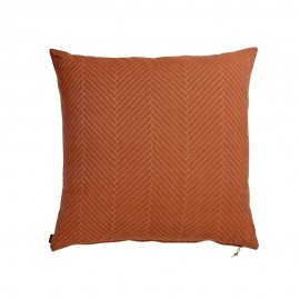 Kissen terracotta in Organic Cotton