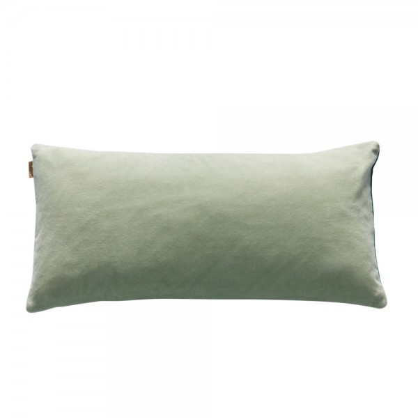 Lia cushion, fog green