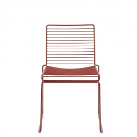 Hay, Hee Dining Chair, Rostrot