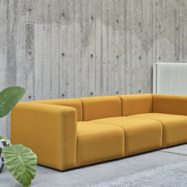 gelbes Sofa Mags