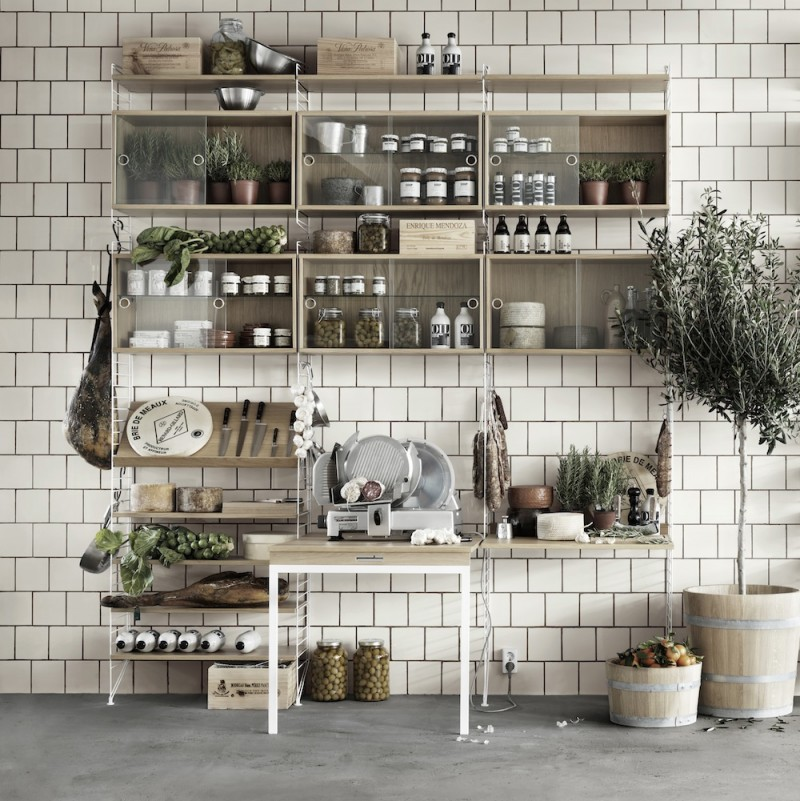 String Regalsystem für Küche | Toendel