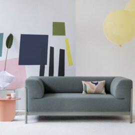 grünes Sofa von Fest Amsterdam