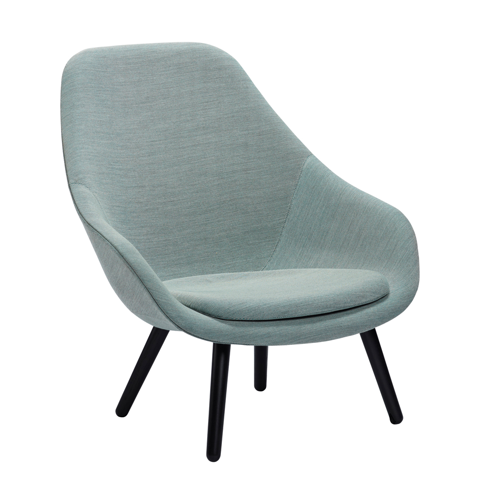 Hay, AAL 20, About A Lounge Chair mit Sitzkissen
