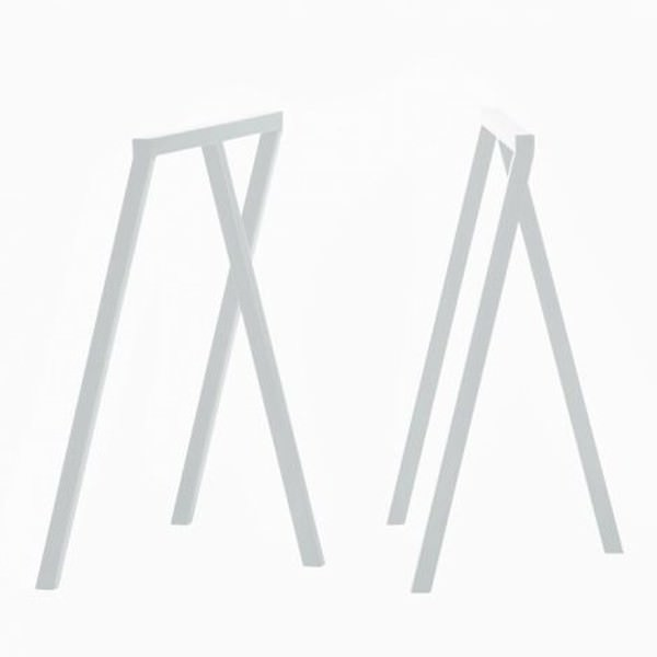 Loop Tischböcke, weiß, Hay