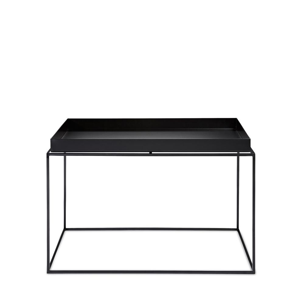- Hay, Tray Table, Coffee Square, Schwarz - Möbel & Design Köln