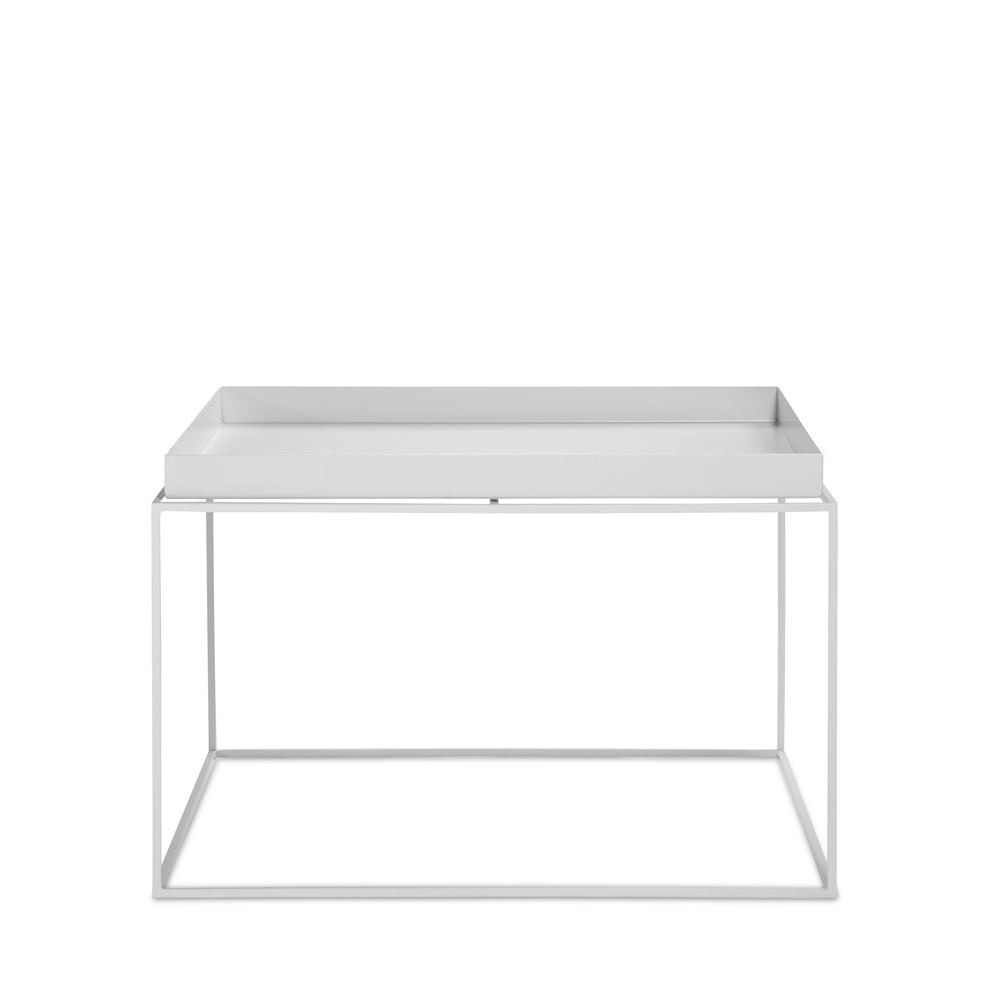 - Hay, Tray Table, Coffee Square, Weiß - Möbel & Design Köln