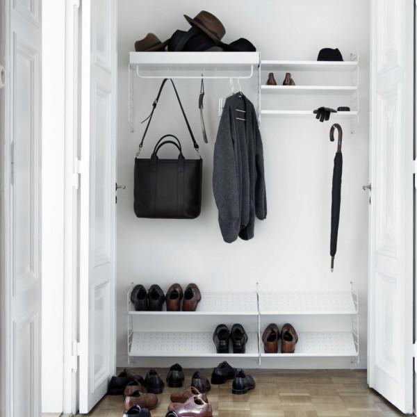String Schuhregal, Garderobe