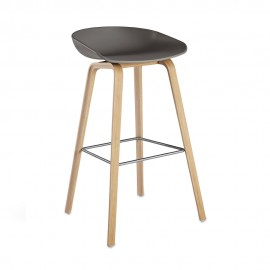 About a Stool 32, AAS 32, Barhocker,grau, Hay