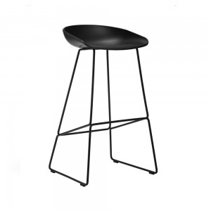 About a Stool 38, schwarz, Hay