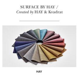 neuer Polsterstoff von KVADRAT für HAY