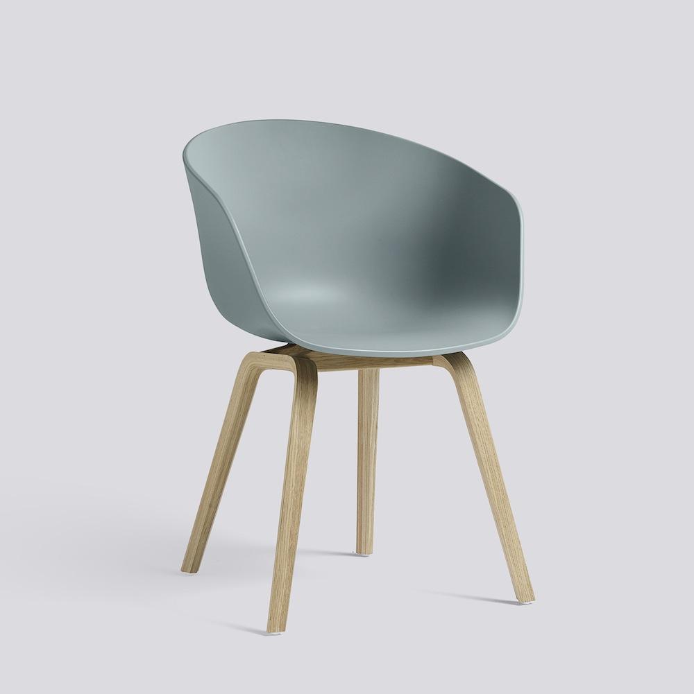 Hay About A Chair Aac22 Dusty Blue Möbel Design Köln