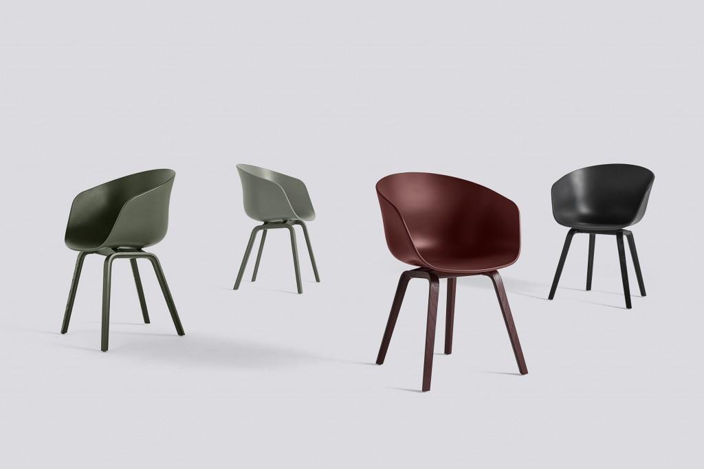 skandinavische Designstühle von HAY