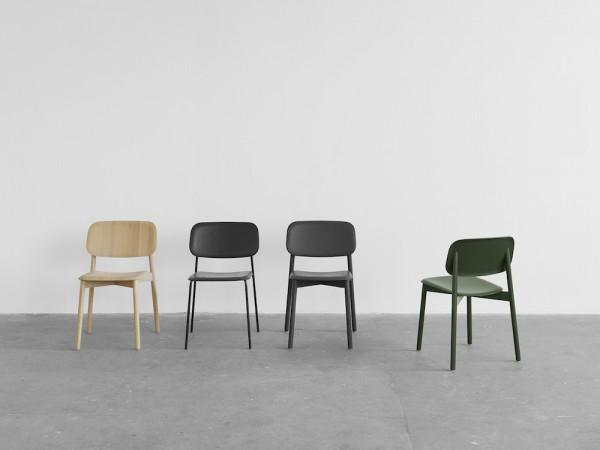 Design Holzstühle von Iskos Berlin für skandinavisches Label HAY