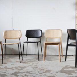 Design Holzstuhl von Iskos Berlin für skanidinavisches Designlabel HAY