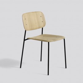 Holzschalenstuhl mit Stahluntergestell von Iskos Berlin für HAY