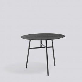 klappbarer runder Tisch von HAY