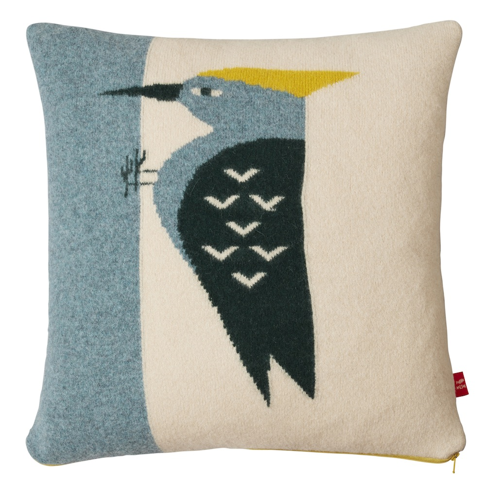 Woodpecker cushion Donna Wilson