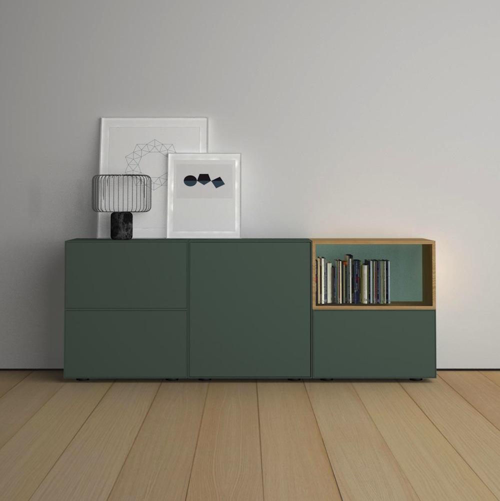 modulares Sideboard Systemmöbel