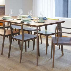 Esstisch und Stühle von MINT