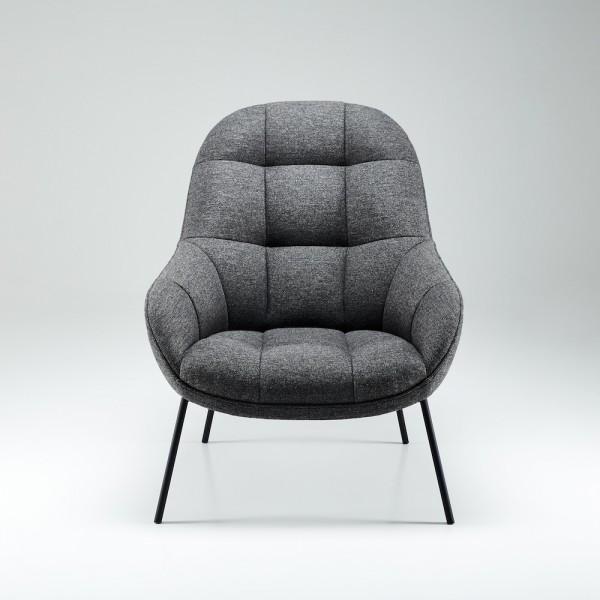 bequemer Lesesessel, skandinavisches Design