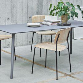 CPH Deux Tisch, Soft Edge Stuhl, Hay