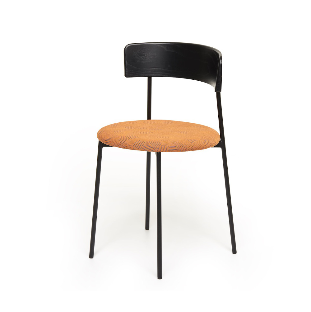 fest amsterdam friday chair orange schwarz m bel design k ln. Black Bedroom Furniture Sets. Home Design Ideas