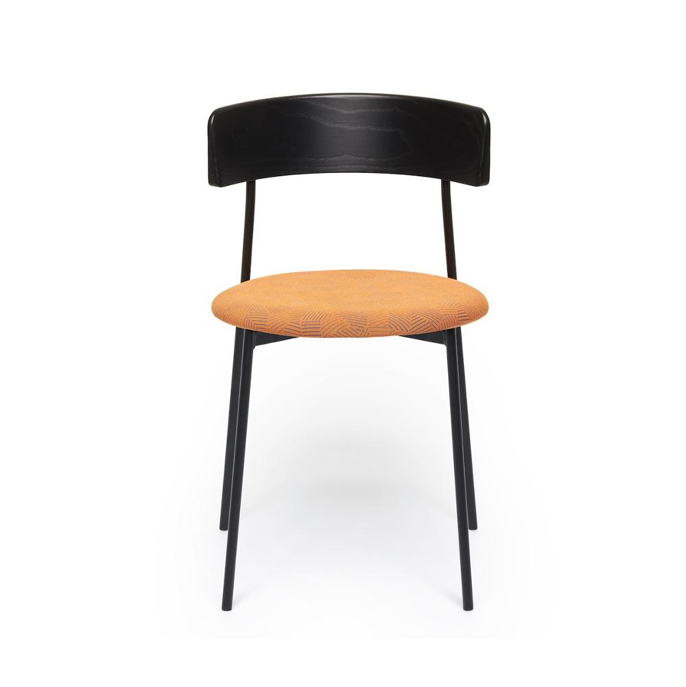 fest amsterdam friday chair orange schwarz m bel design k ln. Black Bedroom Furniture Sets. Home Design Ideas