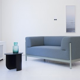 blaues Designsofa