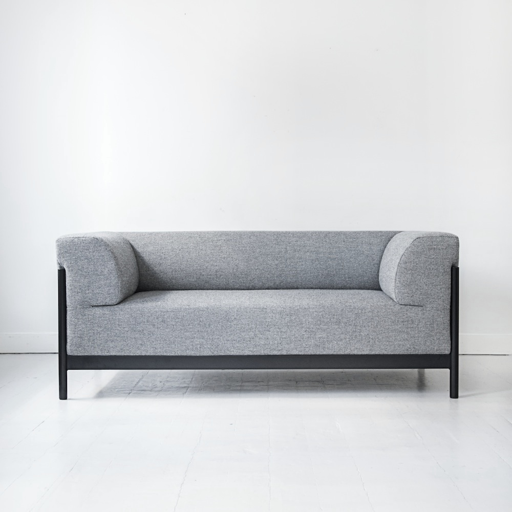 fest amsterdam kate sofa 2 sitzer grau m bel design k ln. Black Bedroom Furniture Sets. Home Design Ideas