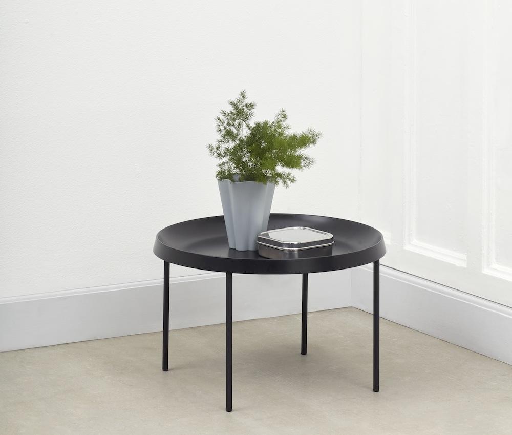 Hay Beistelltisch Tulou Table Black Möbel Design Köln