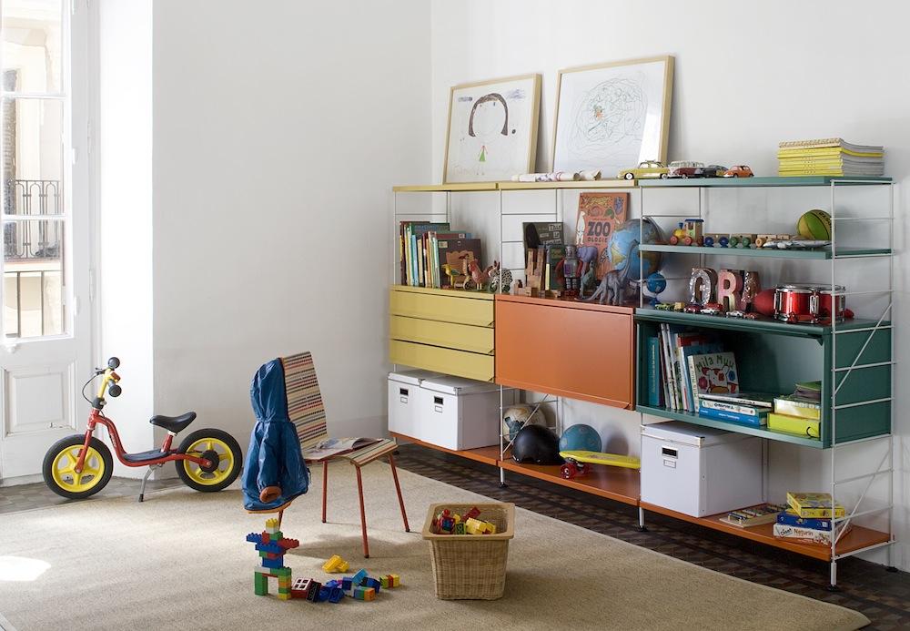 Regal- und Schrankwand Kinderzimmer