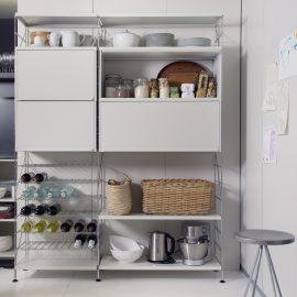 Regal- und Aufbewahrungssytem für Küche