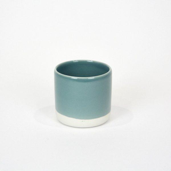 Jars Ceramistes Gobelet M vert der chaux