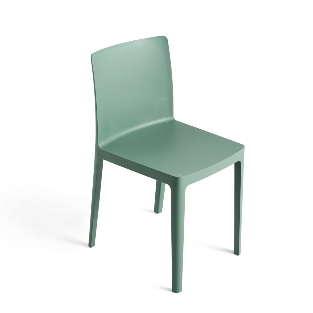 Hay Elementaire Chair Smoky Green Mobel Design Koln