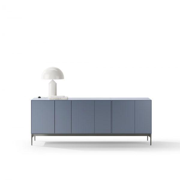 modulares blaues Sideboard